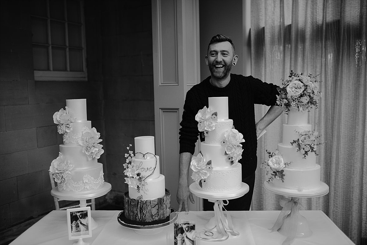Hampton Manor wedding supplier Ben the Cake Man