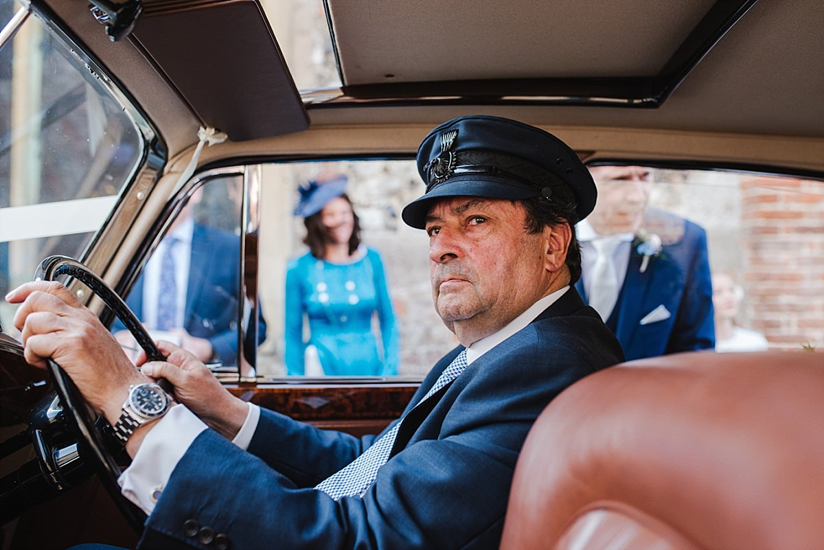 Dorney Court Wedding Photos Tudor House driver