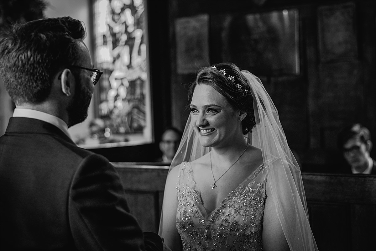 Dorney Court Wedding chapel ceremony
