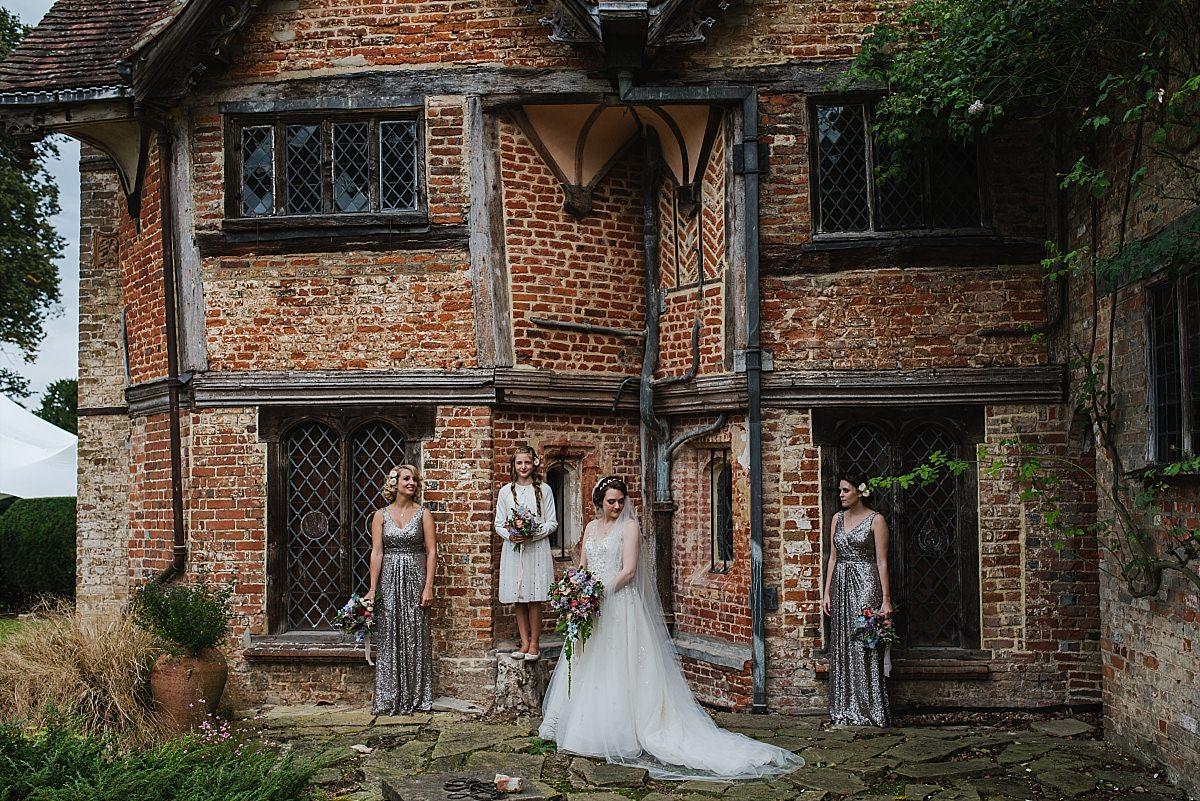 Bridal portrait at Dorney Court Wedding