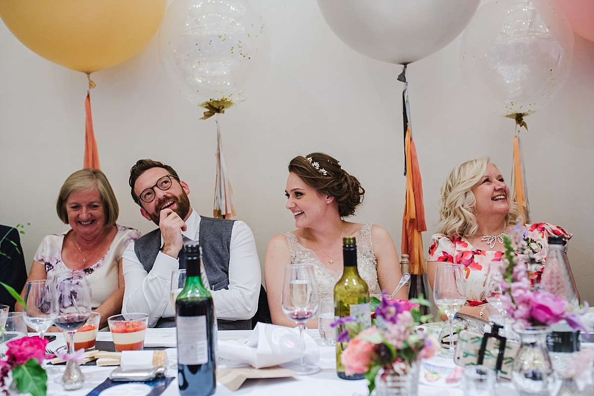 Speeches photos at Dorney Court Wedding in Windsor