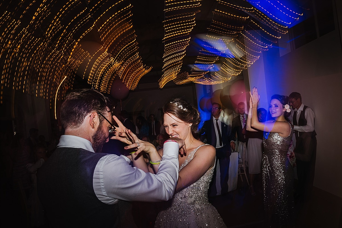 First dance at Dorney Court Wedding in Windsor