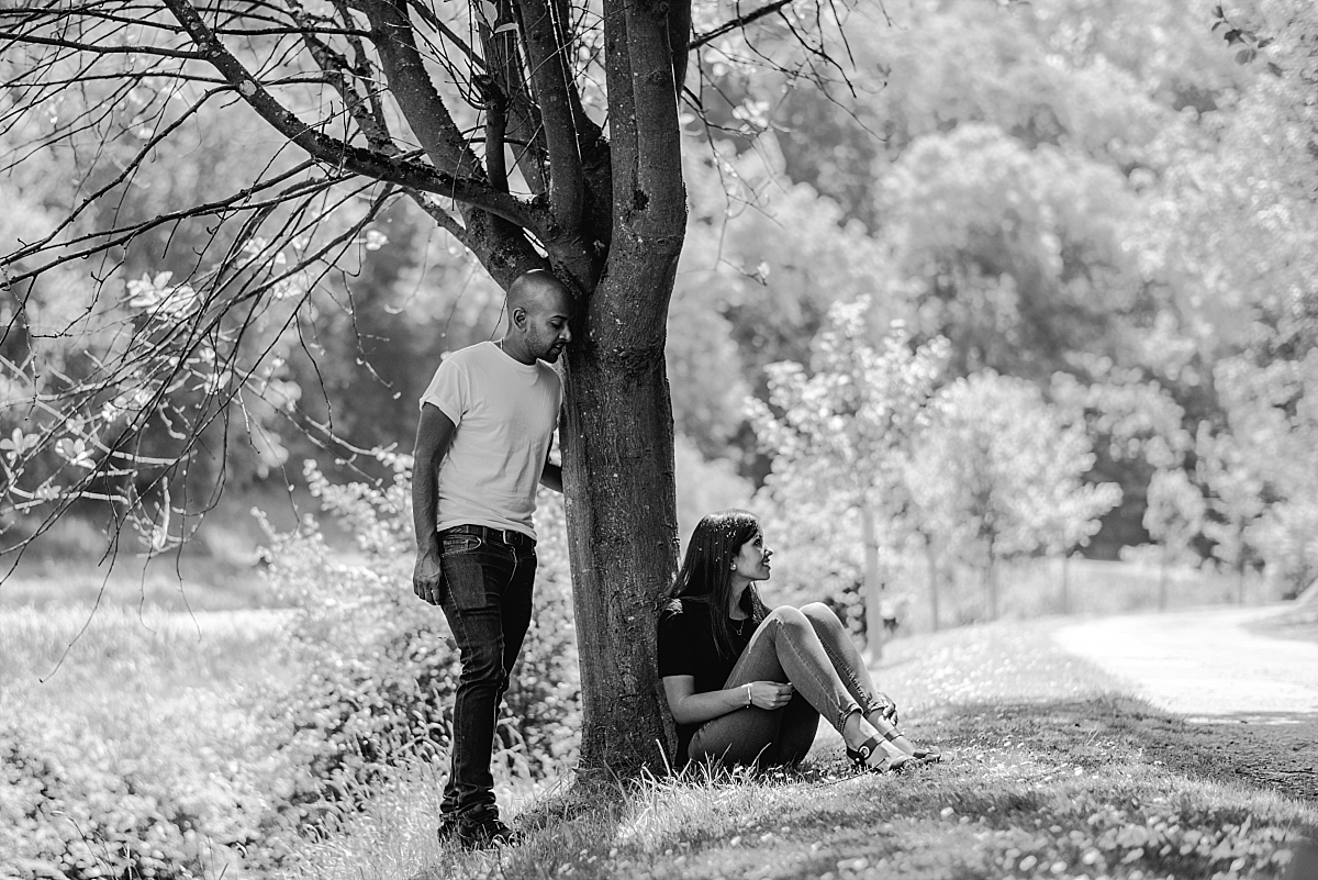 Cotswolds Engagement Photos in Ruskin Mill Nailsworth