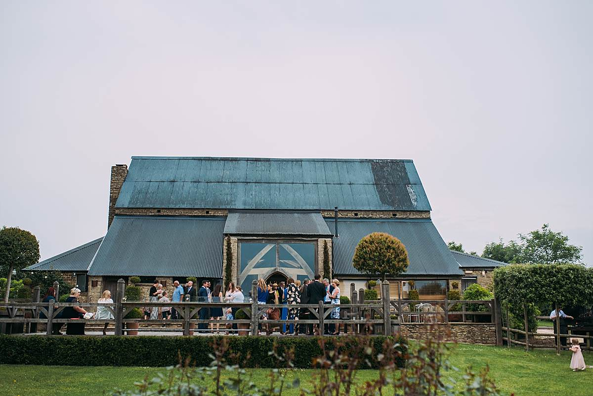 outside view of Cripps Barn wedding venue in the Cotswolds