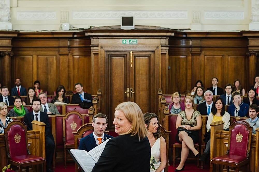 Islington Town Hall Wedding ceremony
