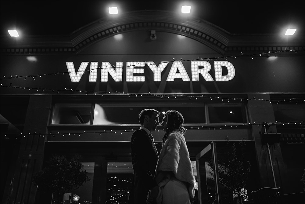 Islington Town Hall Wedding Vineyard pub