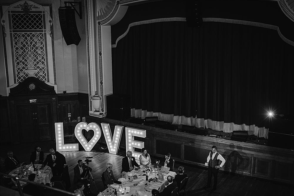 Islington Assembly Hall Wedding speeches