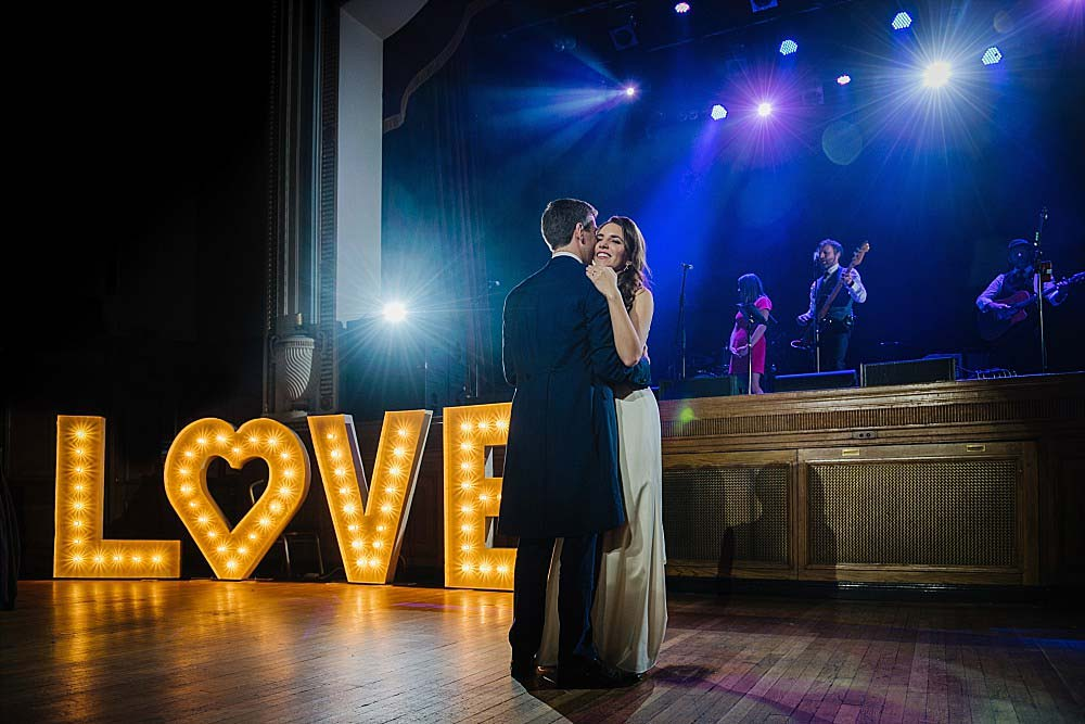 Islington Assembly Hall Wedding first dance