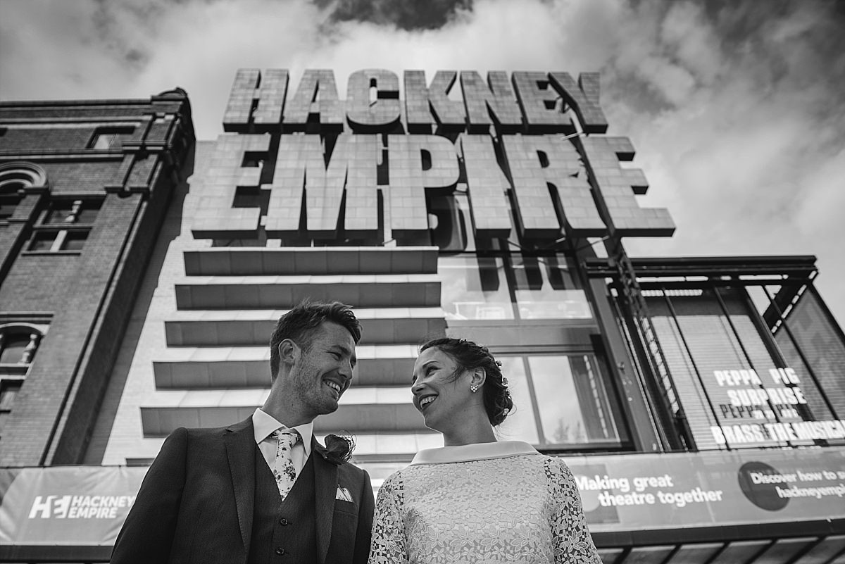 Stour Space wedding Hackney Empire