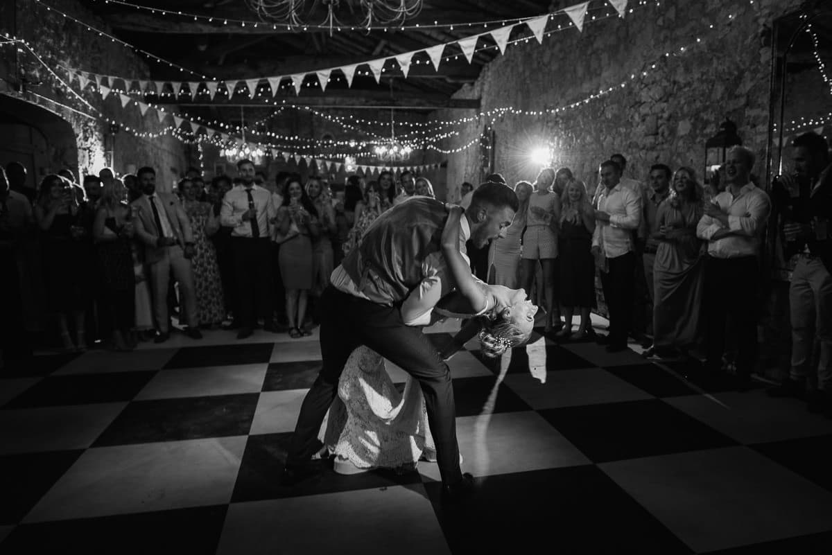 First dance chateau Soulac Dordogne wedding photos France