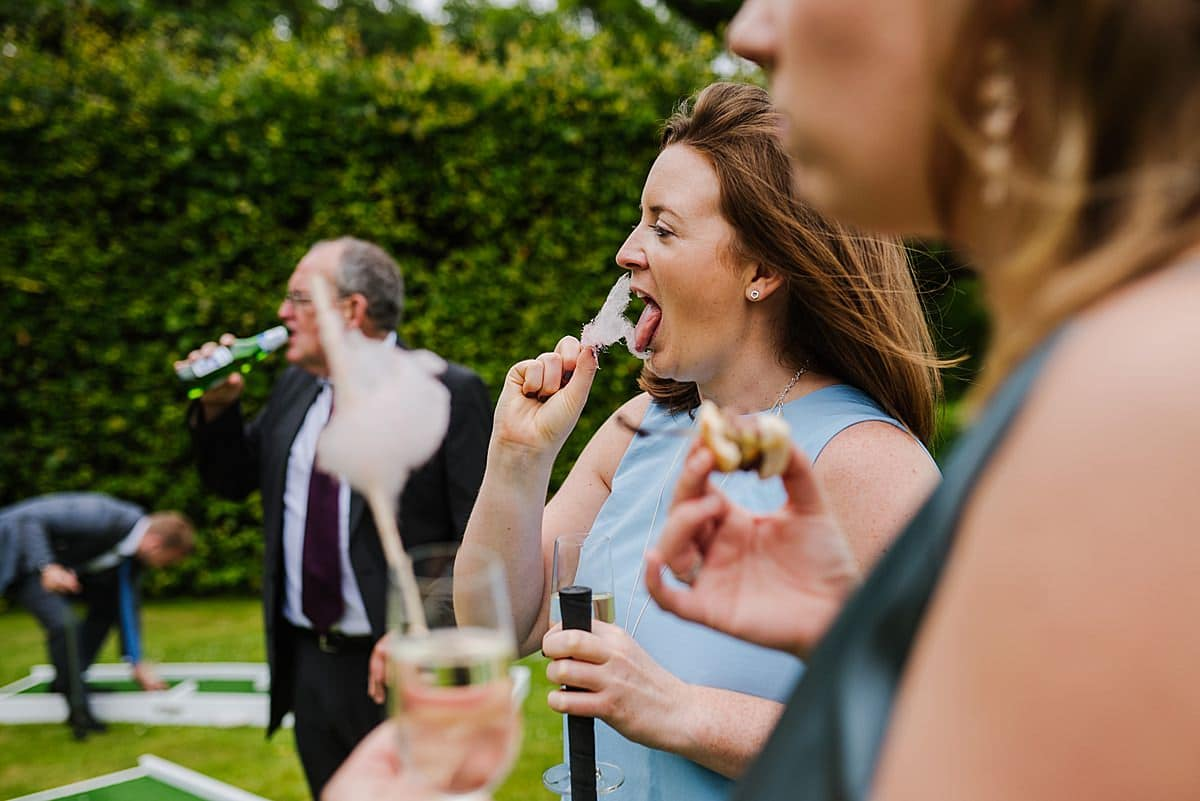 Candyfloss Penmaen House Wedding photo