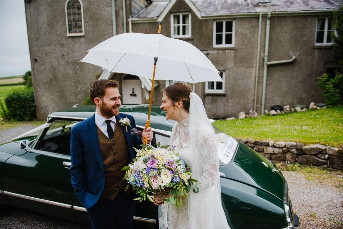 Boho vintage themed Penmaen House Wedding photos