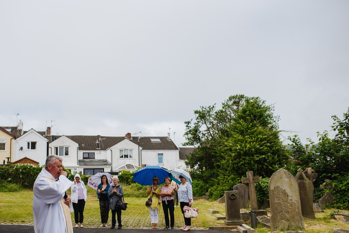 All Saints church vicar Mumbles Swansea