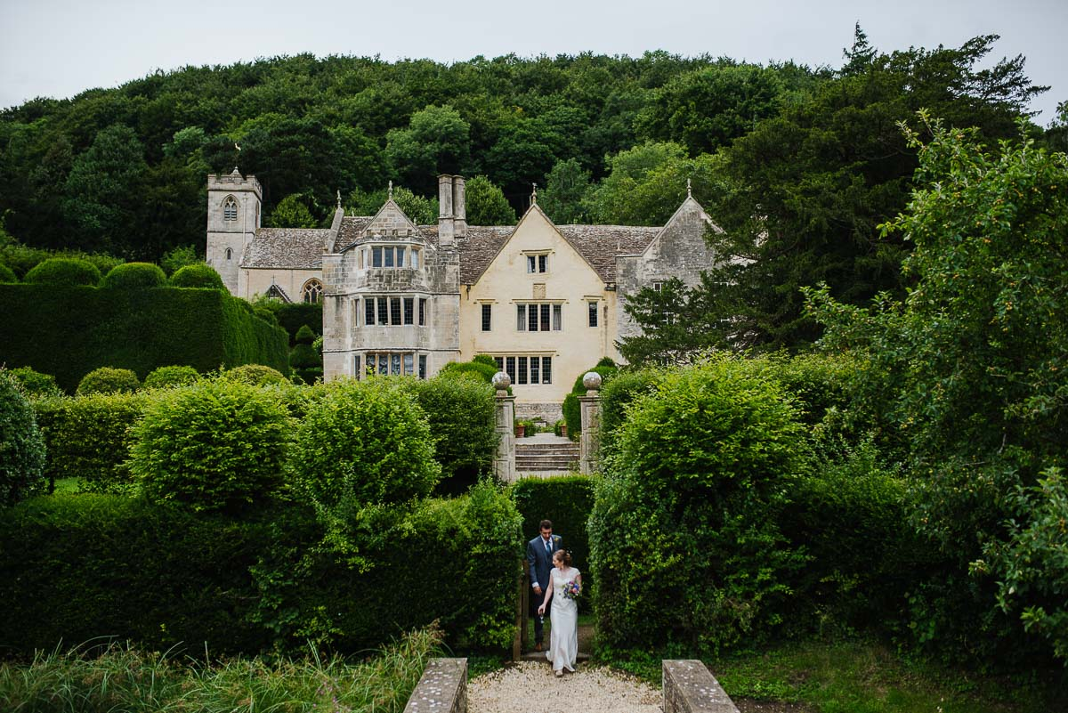Gloucestershire wedding photos Manor house setting