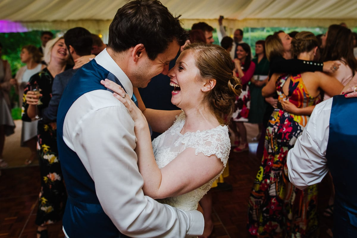 Owlpen manor house marquee wedding photos