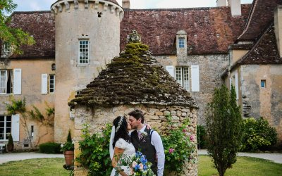 French Chateau wedding photos | Dordogne | France