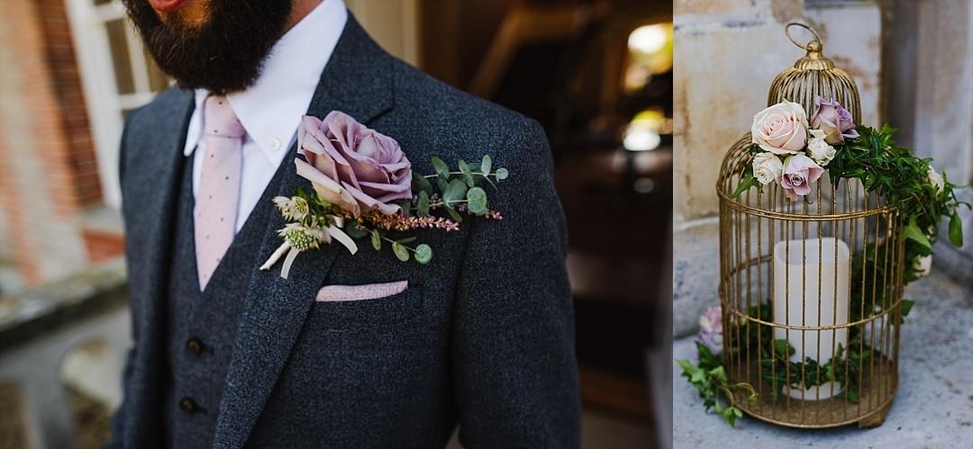 ardington House wedding decor flowers details photo