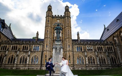 Mary & Chris | Malvern College Wedding Photos