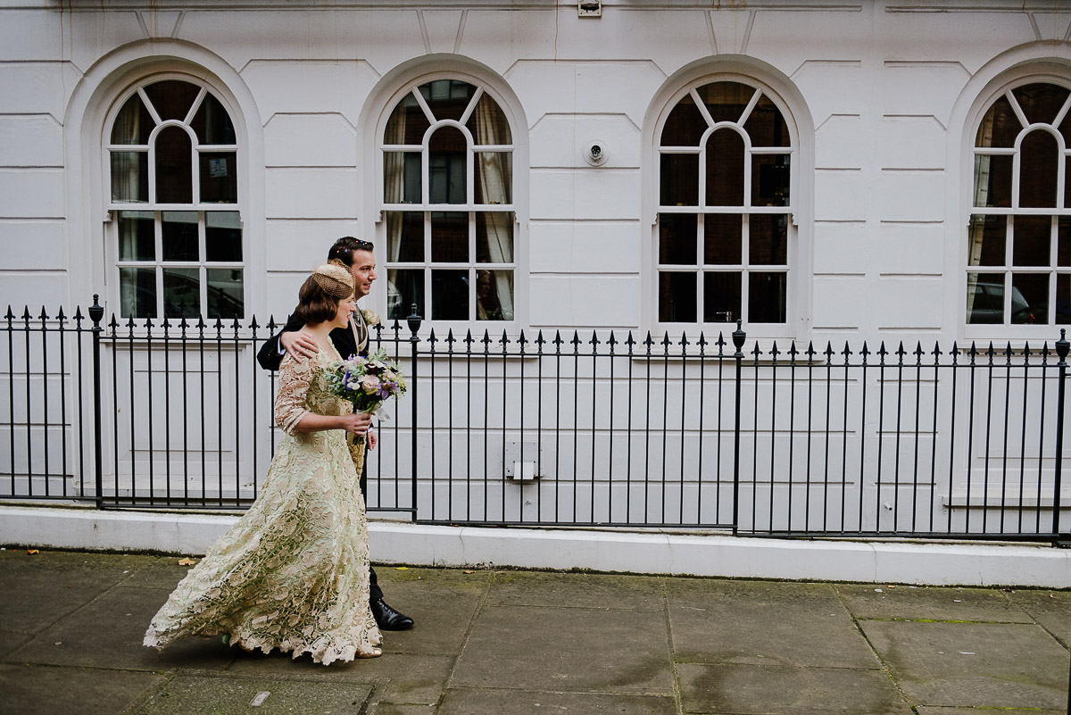 16Emma Isaac Finsbury Town Hall London Wedding Photos