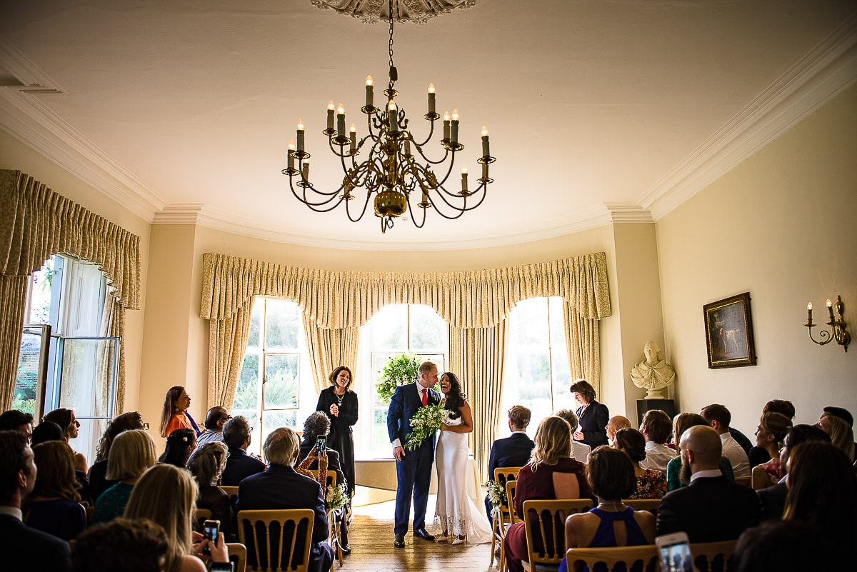 Cambridge Cottage London wedding ceremony