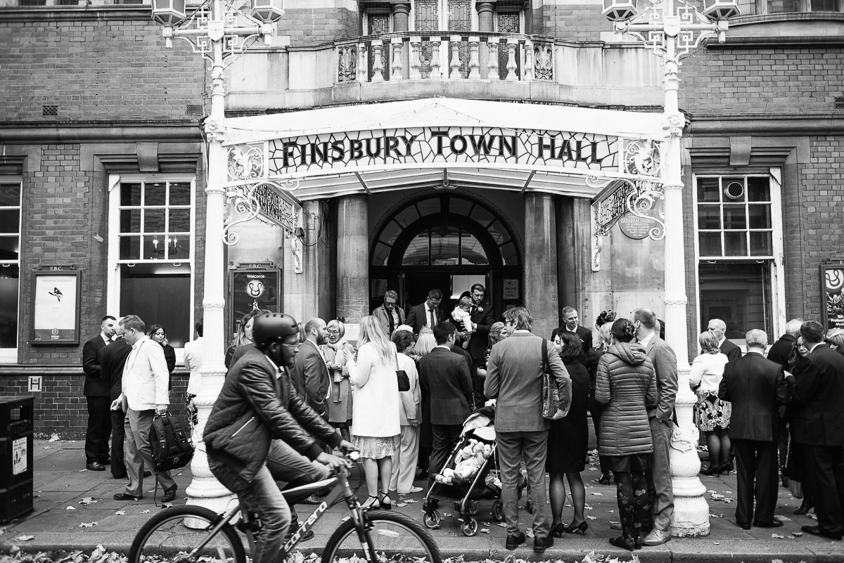 49Emma Isaac Finsbury Town Hall London Wedding Photos