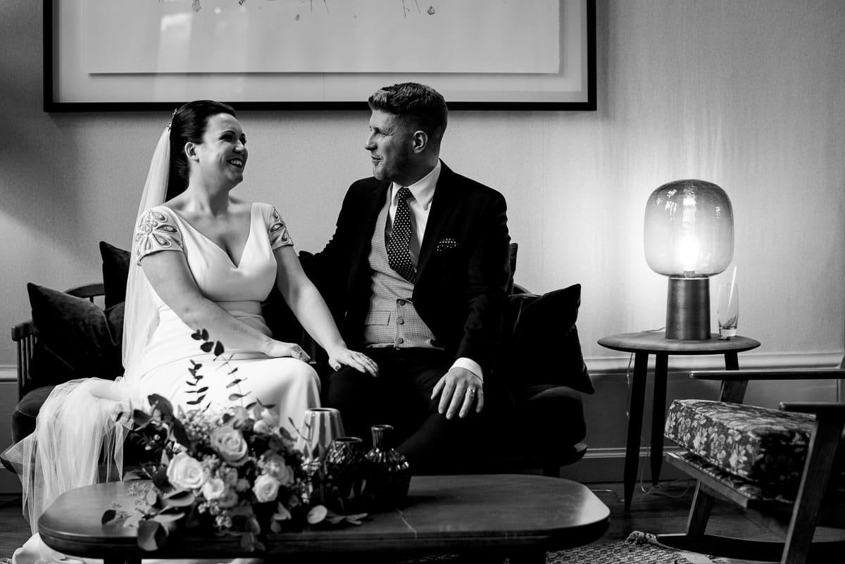Hampton Manor Christmas wedding photos