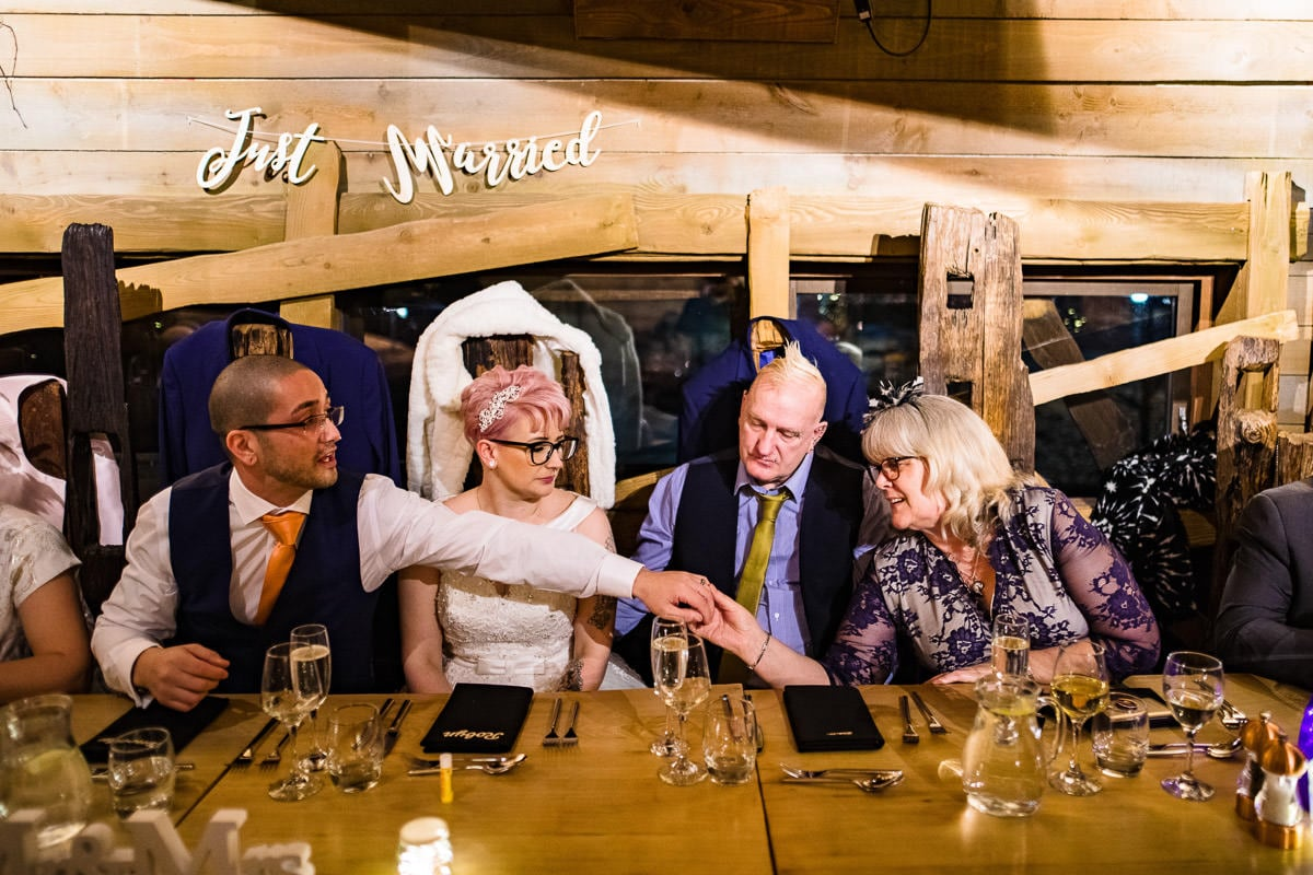 104Alnwick treehouse wedding photos Jonny Barratt Photography