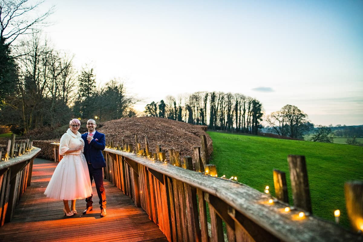 110Alnwick treehouse wedding photos Jonny Barratt Photography