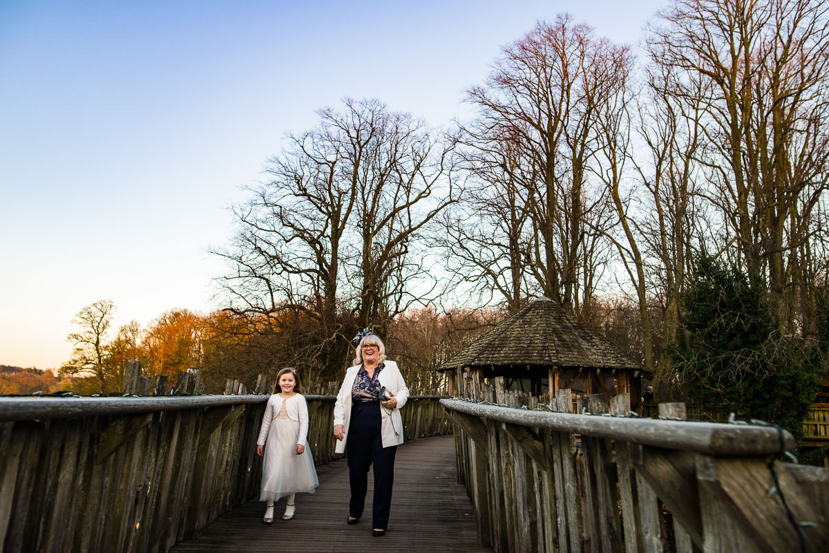 133Alnwick treehouse wedding photos Jonny Barratt Photography