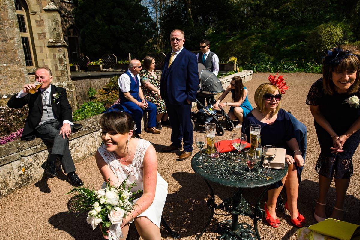 022Clearwell castle wedding photos Jonny Barratt Photography