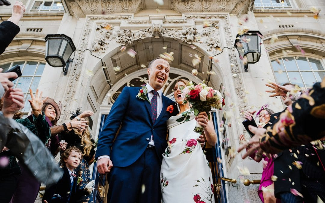 Chelsea Old Town Hall Wedding | Mel & James