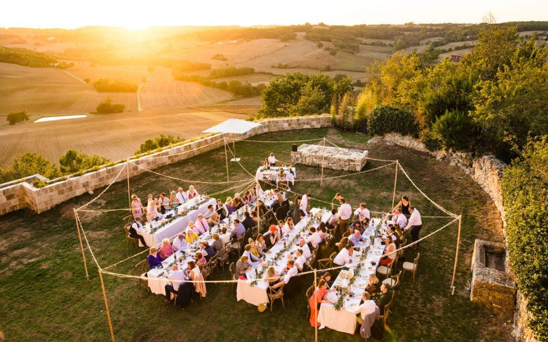 Castelnau des Fieumarcon Wedding Venue France