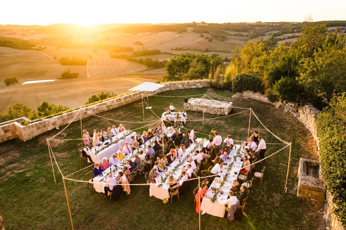 Castelnau des Fieumarcon wedding venue France photos