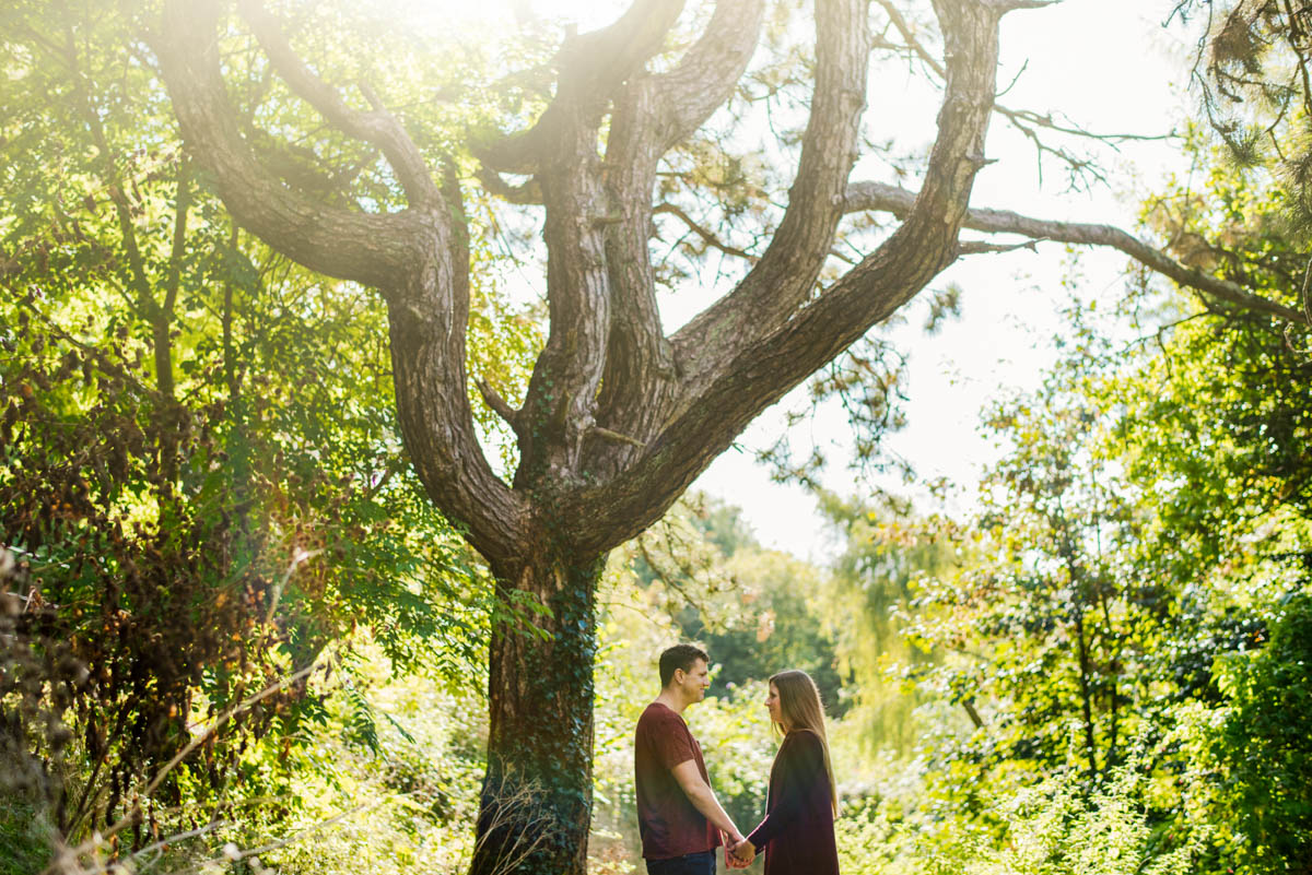 Westonbirt Arboretum Tetbury engagement secret proposal