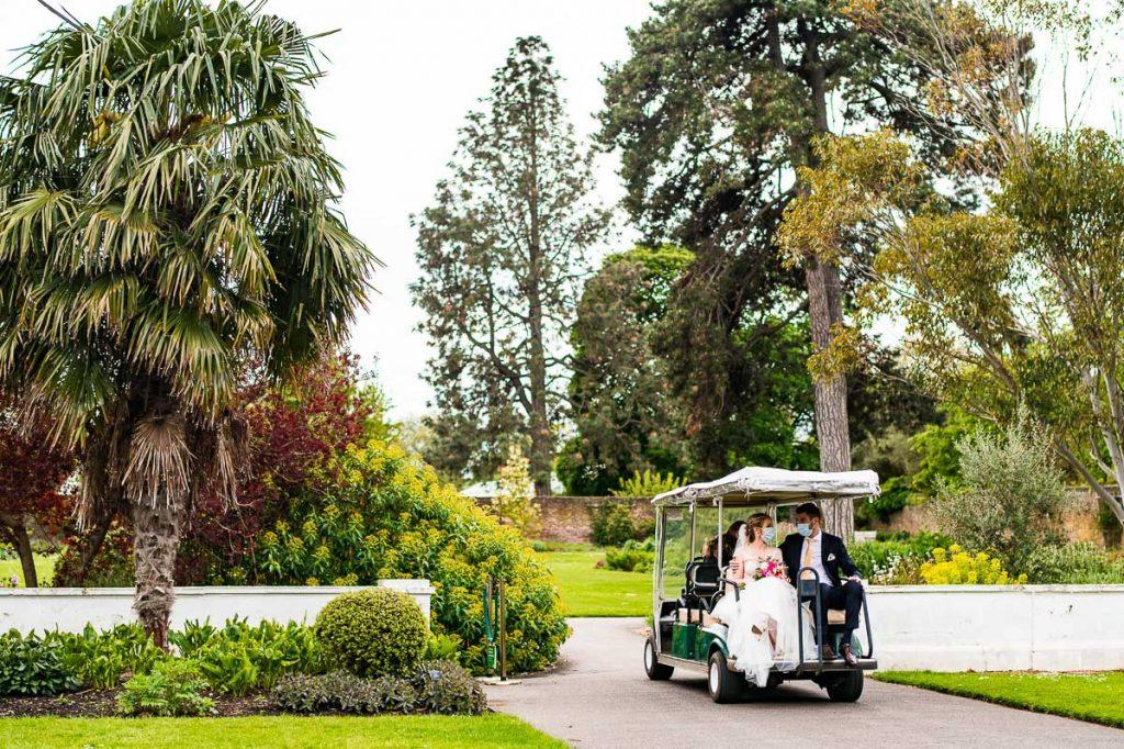 Kew Gardens Micro Wedding